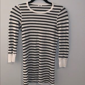 Splendid striped thermal shirt